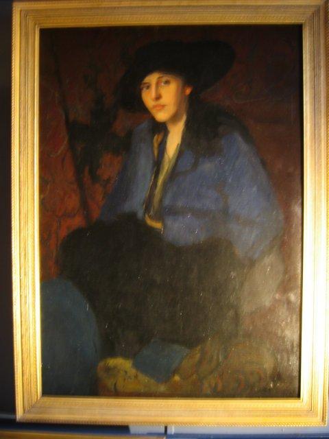 1915 Portrait by Florence Julia Bach