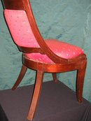 English Mahogany Regency Chair