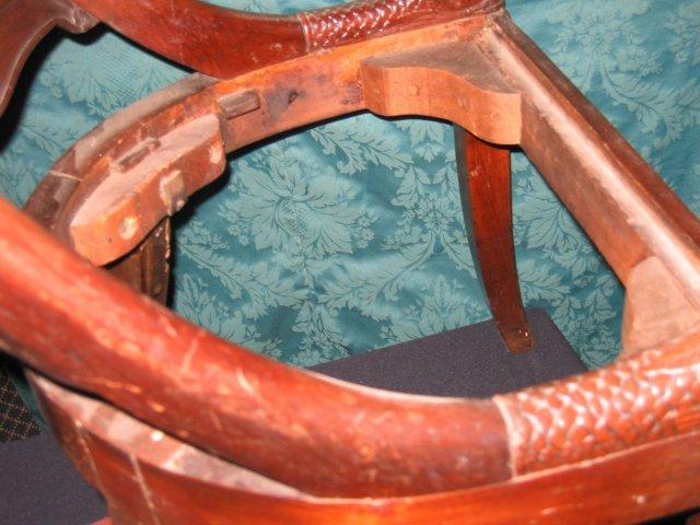 English Mahogany Regency Chair