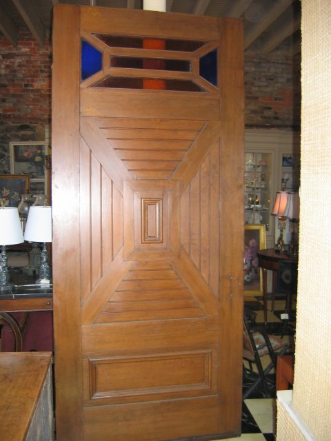 Arts and Crafts Exterior Door- 1920's
