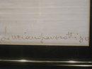 Luciano Pavarotti signed handkerchief
