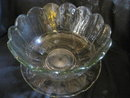 Heisey Punch Bowl and platter