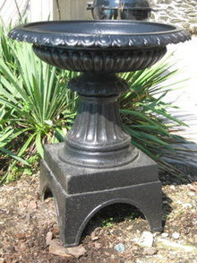 J.L. Mott Iron Works Garden 19thc Urn