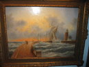Dennis Lewan original oil on board