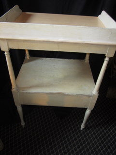19thc Painted Washstand, New England