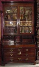 English Mahogany Secretary, 1780