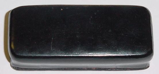 French Tortoise Shell & Papier Mache' Snuff Box,Please visit our website, www.castlehouseantiques.com