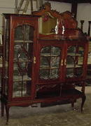English Mahogany Etagere, Please visit our website, www.castlehouseantiques.com