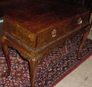 English Burl Walnut, Chippendale Style Server, Please visit our website, www.castlehouseantiques.com