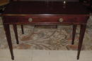 English Mahogany Side Table, Please visit our website, www.castlehouseantiques.com