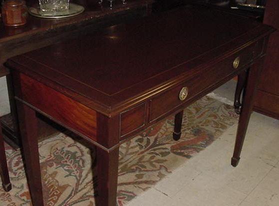 English Mahogany Side Table, Please visit our website, www.castlehouseantiques.com
