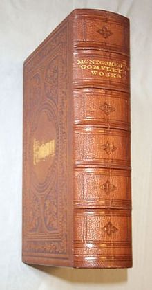 Montgomery -  Poetical Works of James Montgomery, 2 vol. set