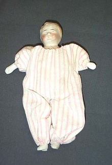 Nippon Bisque Doll
