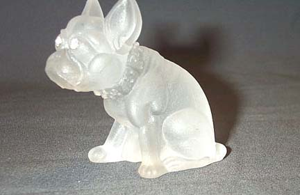 Glass Bull Dog