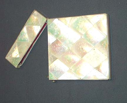 Mother Of Pearl Card Case, Please visit our website, www.castlehouseantiques.com