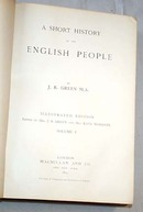 A Short History of the English People by J.R. Green