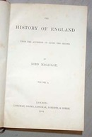 History Of England By Lord Macaulay 1864