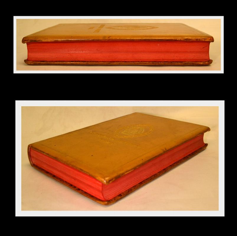 Blunt's Undesigned Coincidences of Old & New Testament, Leather, 1888, Prize Book