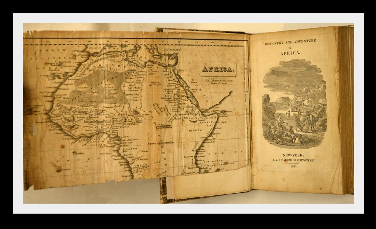 AFRICA, FROM EARLIEST AGES TO PRESENT, 1831,1ST American Ed.