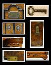 Antique English Smoker's Cabinet, Circa 1887