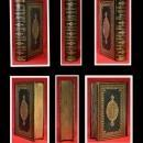 1862 ANGELS Split Double Fore Edge Paintings Herberts Works Gilded