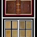 KJV HOLY BIBLE, c1873, Fine Leather, John Brown Self Interpreting Bible
