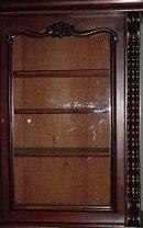 Early Victorian English Mahogany Bookcase