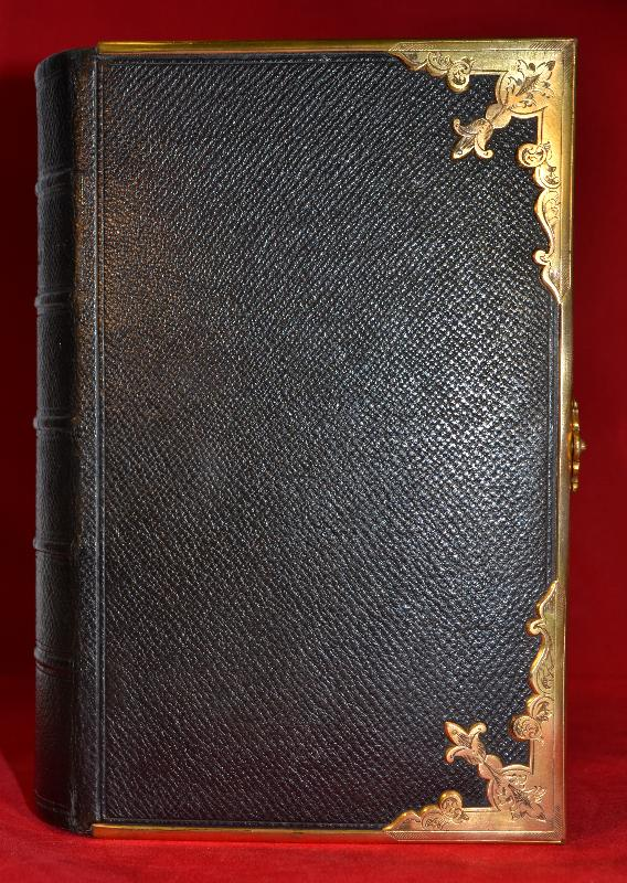 Church Services/Book of Common Prayer, 1856 New Testament, Leather, Clasp
