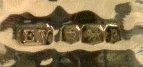 Sheffield Sterling Silver Napkin Ring In Original Box, 1932