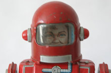 Cragstan Tin Astronaut Wind-up