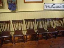Arrow Back Chairs