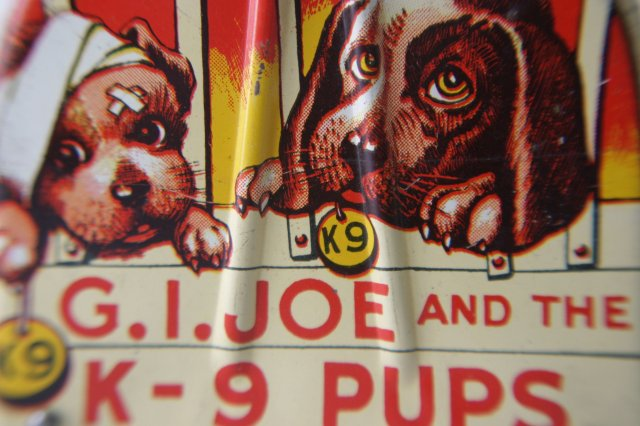 G.I. Joe and K-9 Pups Wind-up Toy