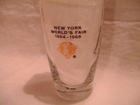 Libbey Glass NY World's Fair 1964 Set of 8 in Box