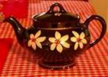 Royal Canadian Art Pottery Tea Pot