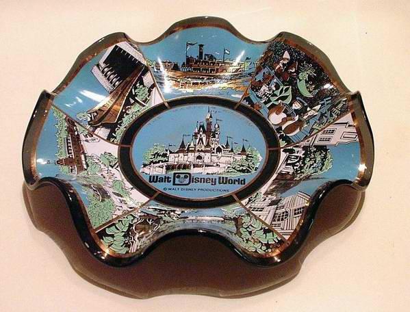 Walt Disney World Magic Kingdom Souvenir Plate