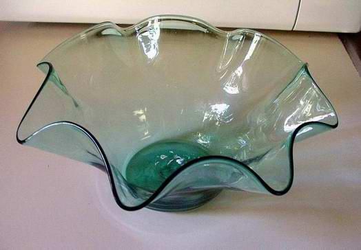 Blenko Hand Made Glass Bowl