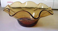 Blenko Hand Made Glass Bowl