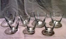 Seven Libbey Rock Sharpe High Ball Glasses