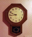 Lux Robert Shaw Electric Clock