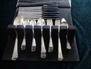 Oneida Community Silverplate Tudor 51 Pieces