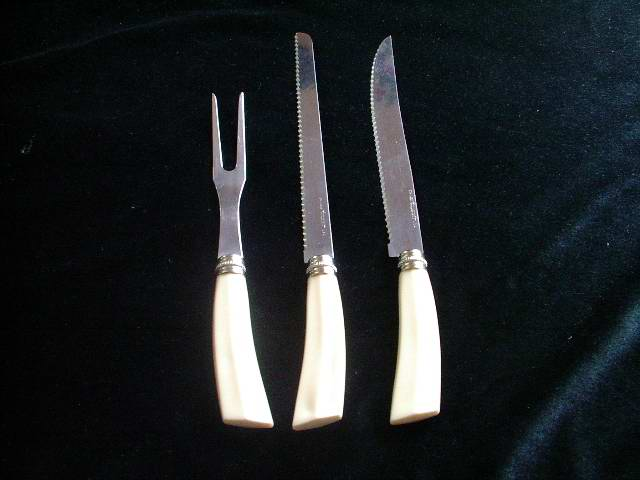 Carving Set Forgecraft USA Three Pieces