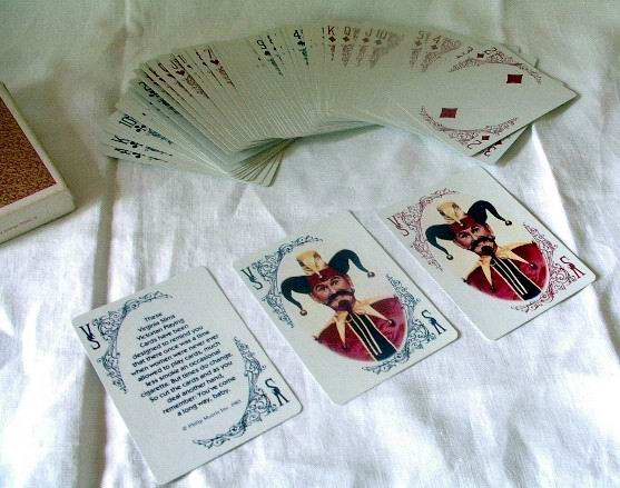 Virginia Slims Playing Cards 1985