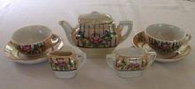 Doll's Tea Set Vintage Japan Lusterware