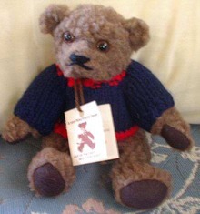 Von Nischwitz Bear Hand Made in Canfield Ohio