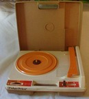 Fisher Price Record Player 1978