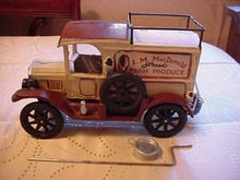 Cast Iron McDonald Produce Truck