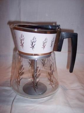 Vintage Coffee Pot Douglas Flameproof 8 Cup