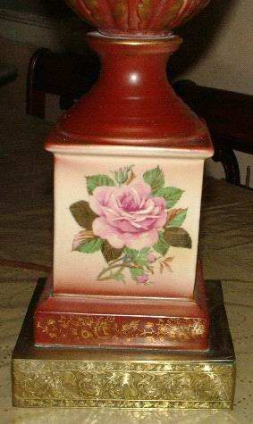 Meissen Style Lamp Large 35