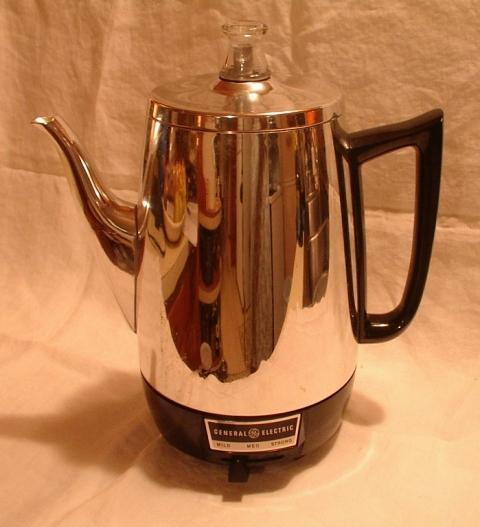 GE Coffee Percolator Model PS207 Automatic USA