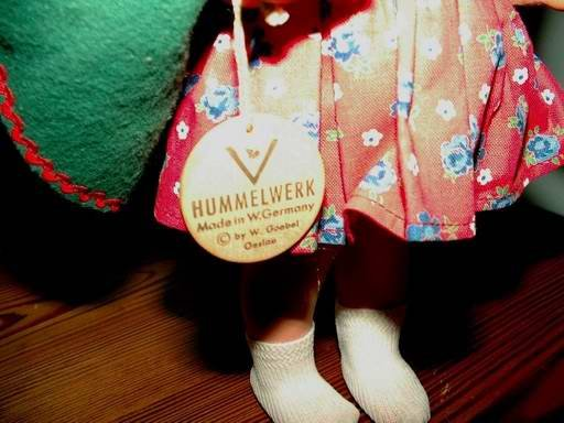 Doll Hummelwerk by Goebel Eva Harta 12